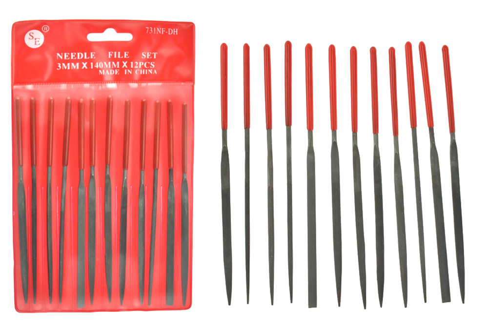 J1062 - Needle Files 12 Pc. Set    ( 731nf-d ) s