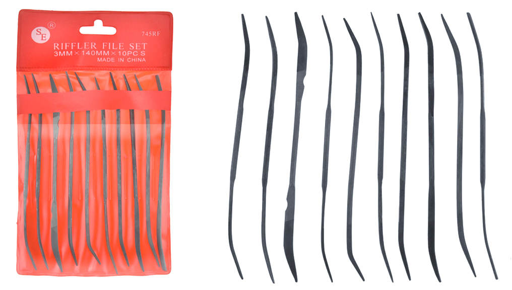 J1066 - Riffler Files 10 Pc. Set   ( 745rf ) s