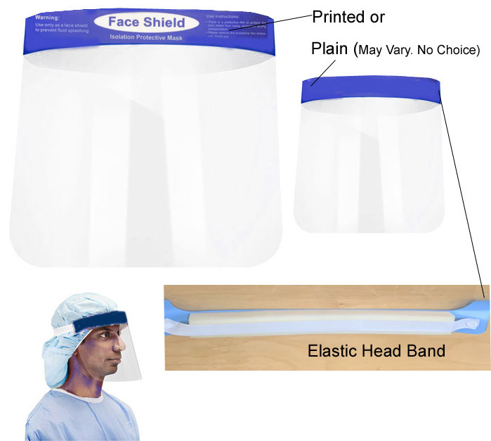 .A141FS - Assurance-King Face Shield ( non medical use ) ( 9052fs )