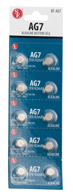 AAG7- 10-Pc Battery Set ( bt-ag7 ) s