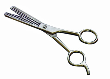 C356  -   ICE Tempered 6.5'' Thinning Shears Single-Side Teeth ( sp13  245-sb ) s v