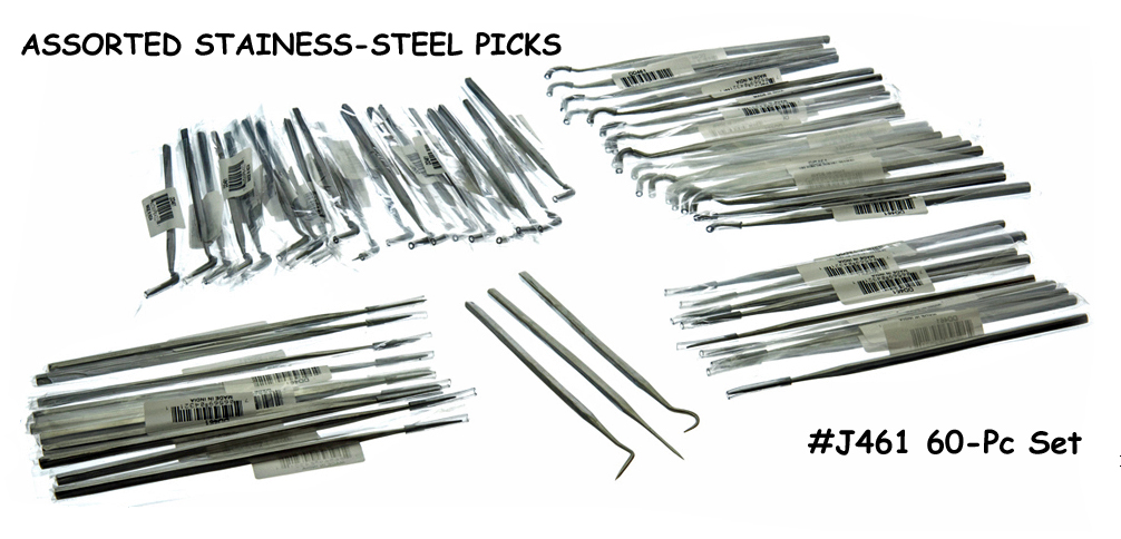 J461 - 60-PC Single Pick Set ( dd461 ) s