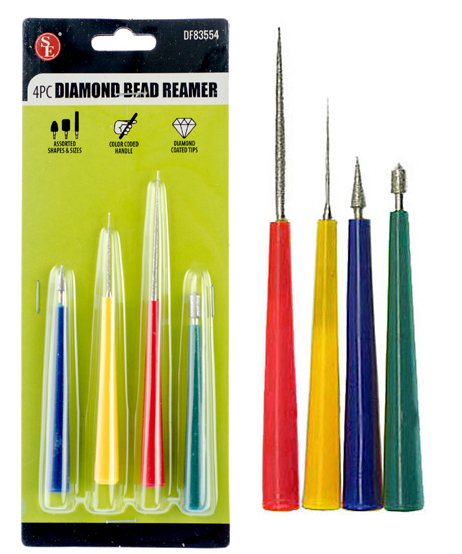 J1BR - 4-Pc Pro Diamond Bead Reamer   ( df83554 ) s