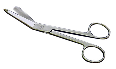 G703 - Lister Medium-Large Stainless Bandage Scissors 5.5'' (  874-5.5''  sp26  227-c 100238  ) m s v z