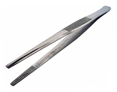 I953 - 12'' Extra-Long Tweezers (thumb forcep)  (  832-12''   321-g ) m  v