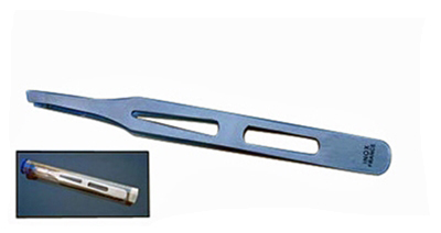 I960A - INOX French Type Tweezer 3.25'' High Quality ( mtdp32 ) m