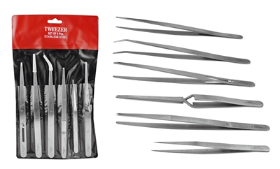 I977 - Multi-Purpose 6-Pc  Tweezers Set  ( tw2-406 ) s