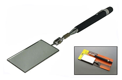 J1067AA - Large Rectangular Inspection Mirror-Telescopic. ( 8015tm ) s