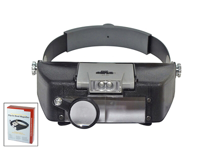 L3007H - Pro. Illuminated Multi Power Head Magnifier ( mh1047l ) s
