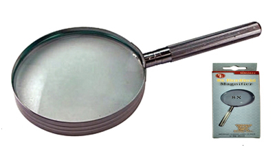 L3024BC - All Metal 3.5'' Lens Magnifier 2x ( mm2035 ) s