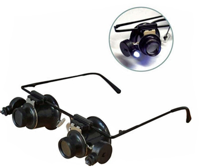 L3070A - 10X Dual LED Loupes on Frame ( mg1312s ) s