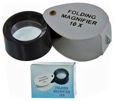 L3179AT - Folding Jeweler's Eye Loupe 10x ( mi119 ) s