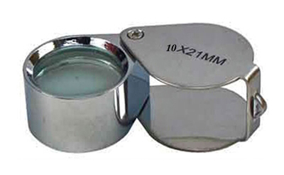 L3195B - 10x Folding Jeweler's Loupe L3195B ( mj381021c ) s