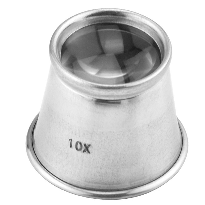 L3181 - Aluminum Eye Loupe 10x Power 21mm ( mg920a mi120 ) h s