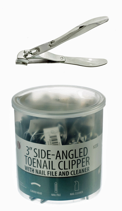D455A  -'Side'' Toe Nail Clippers 3'' 36 per Jar( n336 170-s 100427 ) s v z