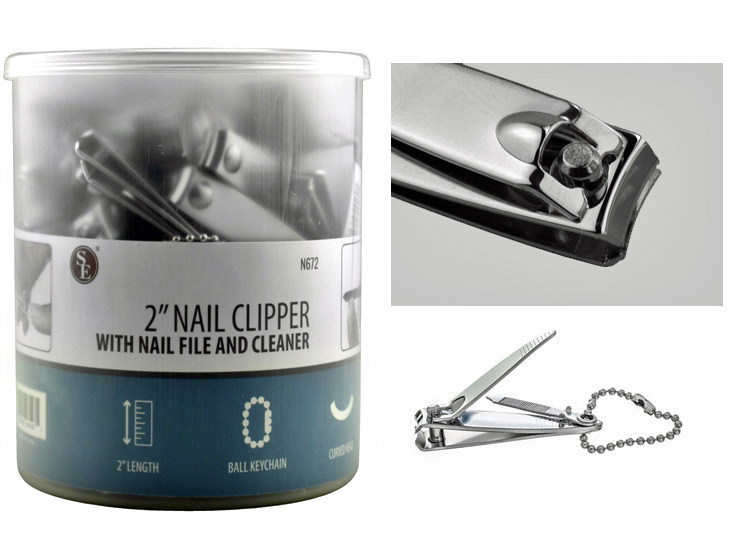 D430A - Finger Nail Clippers 21/8