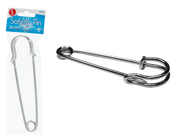 A14SP - Giant Baby Safety Pin  5'' Size ( sp5c ) s